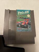 VTG 1987 NES NINTENDO CLASSIC R.C. PRO-AM RACE TRACK RACING GAME CARTRIDGE