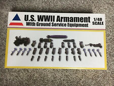 Accurate Miniatures 1:48 US WWII Armament W/ Ground Service Equipment SEALED NIB