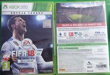 FIFA 18 XBOX 360 PL POLSKI KOMENTARZ NOWA POLSKA WERSJA POLISH EDYCJA LEGACY FUT