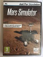 Mars simulator JEU PC NEUF SOUS BLISTER