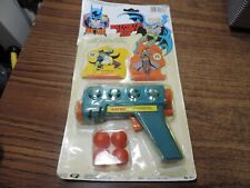 Batman Batpistol Target Set Bat Pistol Sealed 1988 Gordy