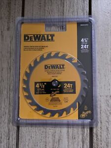 Dewalt ATOMIC 4 1/2 in Circular Saw Blade - 24 Tooth - General Purpose Wood Cut