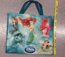 New extra Large D23 DISNEY STORE LITTLE MERMAID ARIEL REUSABLE Bag Tote
