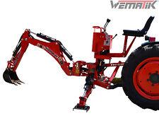 Heckbagger Wematik Traktor Bagger Anbaubagger Minibagger hydr. 95 Schaufel