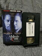 A Murder of Crows (VHS, 1999) Cuba Gooding Jr., Tom Berenger