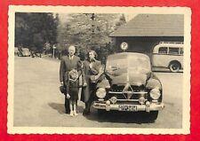 """MANNHEIM ? PHOTO """" AUTOMOBILE BORGWARD WAGEN """" ANNEES 1960"""