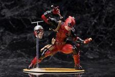 ARTFX+ Marvel X-men Deadpool Limited Ver. PVC Action Figure Model Toy Gifts
