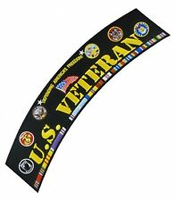 U.S. Veteran Service Ribbons Rocker Patch, Military Patches