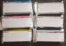 6 x roland tinta versauv lef-12 lef-20 lec-300 330 lej-640/eco UV uv3 LED Ink