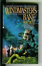 WINDMASTER'S BANE by Tom Dietz, Ace 1st sci-fi fantasy pulp vintage pb