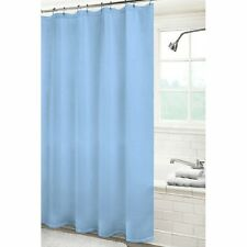 NEW SOLID WATER REPELLANT BATHROOM SHOWER CURTAIN LINER CLEAR ALL COLORS