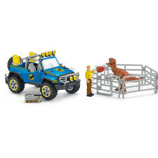 41464 Schleich Off-Road Vehicle with Dino Outpost Set Dinosaurs Figure Plastic