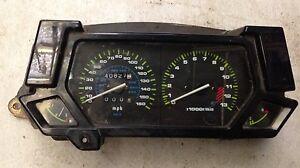 Kawasaki GPX 600R F Reg Clocks
