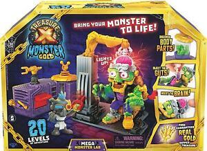 Treasure X Monster Gold Mega Monster Lab 20 Levels of Adventure Kids Gift