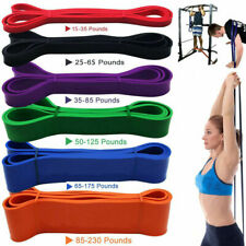 Heavy Duty Resistance Bands Set Loop Exercise Sport Fitness Tube Yoga Gym Pilate