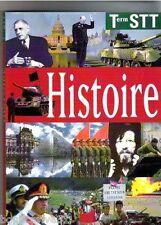 Livre scolaire d'occasion - Histoire Terminale Stt - Edition 1995