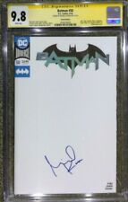 Batman #50 Blank cover variant__CGC 9.8 SS__Signed by Michael Keaton