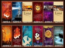 "Inspirational Christian Church Banners 24"" x 60"" (PICK-ANY-TWO)"