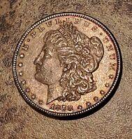 1878-S Morgan Silver Dollar ~ Natural Toning ~ BOLD Details ~ 1st Year Coin!!