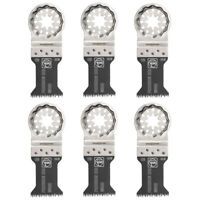 Fein Starlock E-Cut HCS Precision Saw Blade SL 50x35mm - 63502126210 Pack of 6