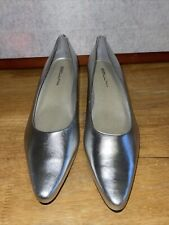 """Women's Bellini Dress Shoes Heel 2"""" Silver size 12M"""
