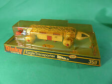 DINKY toys 359 raumbasis Alpha-space 1999-Eagle transporteur white dans Box