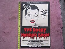 Rocky Horror Stage Show Poster