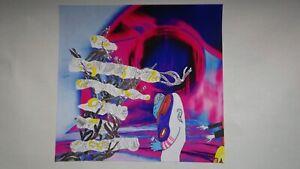 Collage dessin art décoration outsider art brut unique signé danseur somnambule