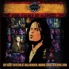 JEFF SCOTT SOTO - ONE NIGHT IN MADRID - 2 CD SEALED