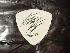 Slayer Devil Head Logo & Kerry King Signature 1999 Concert Tour Guitar Pick
