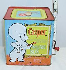 CASPER THE FRIENDLY GHOST CARTOON SHOW MATTEL TIN JACK IN THE BOX 1968