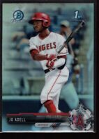 JO ADELL MINT ANGELS ROOKIE REFRACTOR #BDC95 1ST RC SP 2017 BOWMAN CHROME DRAFT