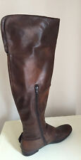 Women's  brown leather Over the Knee Boot Size 40 Nine West