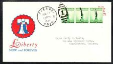 LIBERTY NOW & FOREVER Pierre SD 1941 WWII PATRIOTIC Cover (A1955)