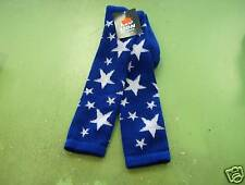 Star Sock Sz 9-11 Royal/White
