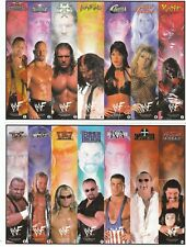 33 WWF BOOKMARKS 33 DIFFERENT DESIGNS WWE the rock steve austin HHH wrestling