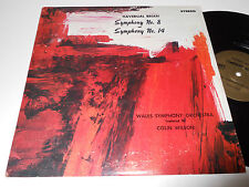 HAVERGAL BRIAN NM Symphony 8 & 14 Colin Wilson Wales Orchestra Aries 1603