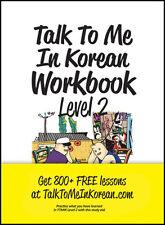 Talk To Me In Korean Workbook Level 2 톡투미인코리안 워크북 2 Free Ship 9788956056890