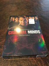 NEW! Criminal Minds - The First Season. DVD format. New in orig pkg.