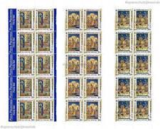 VATIKAN VATICANO - 2001 CHRISTIANISIERUNG ARMENIEN 1366-68 KLEINBOGEN POSTPREIS