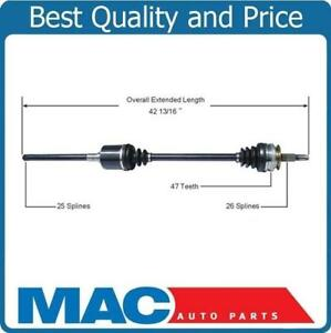 New CV Drive Axle Shaft For All Wheel Drive Town & Country Passengers Side Front