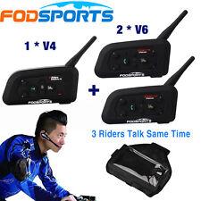 1200M Bluetooth Intercom BT 3 Users Full Duplex Match Football Soccer Referee
