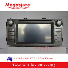 "7.0"" Toyota Hilux Car DVD Player GPS Head Unit For Toyota Hilux 2012-2015"