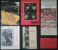 6 BEATLES  ITEM'S , HARROGATE, MARGATE, BLACKPOOL,GT. YARMOUTH LEEDS & SOUTHPORT