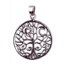 Lebensbaum ,Amulett,Schutzamulett,Talisman,Glücksbringer 925 Silber si27