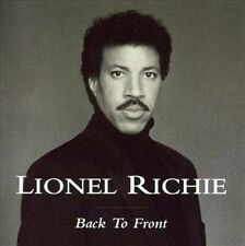 Back to Front [Holland Bonus Tracks] by Lionel Richie (CD, Jan-2003, PolyGram)