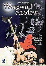 Werewolf Shadow Dvd Paul Naschy Brand New & Factory Sealed