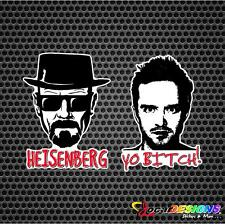 BREAKING BAD Heisenberg Jesse Pinkman Vinyl Car Stickers Decals