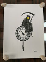 Banksy Grim Reaper 19 / 150 with sign and certificate Dismalad Kaws