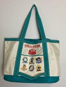 Vintage 90s Japanese Baseball Bag Sanyo All Star Game 1995